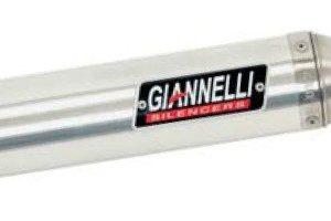 SILENCIOSOS GIANNELLI - Silenciador aluminio street 2T Derbi GPR 125 NUDE Giannelli 53611HF -