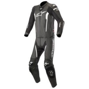 Mono Alpinestars Missile 2PC Leather Suit negro blanco