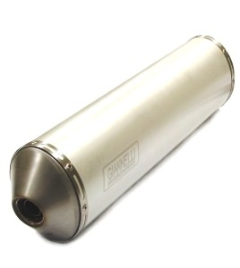 SILENCIOSOS GIANNELLI - MAXI OVAL slip-on aluminio Gilera NEXUS 500 Giannelli 73672A2 -