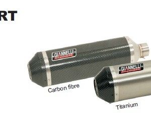 SILENCIOSOS GIANNELLI - Slip on IPERSPORT carbono con terminación carbono Suzuki GSX-R 600 i.e. Giannelli 73713C6SY -