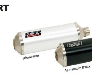 SILENCIOSOS GIANNELLI - Slip on IPERSPORT aluminio corto para colectores originales Yamaha YZF 600 R6 Giannelli 73709A6