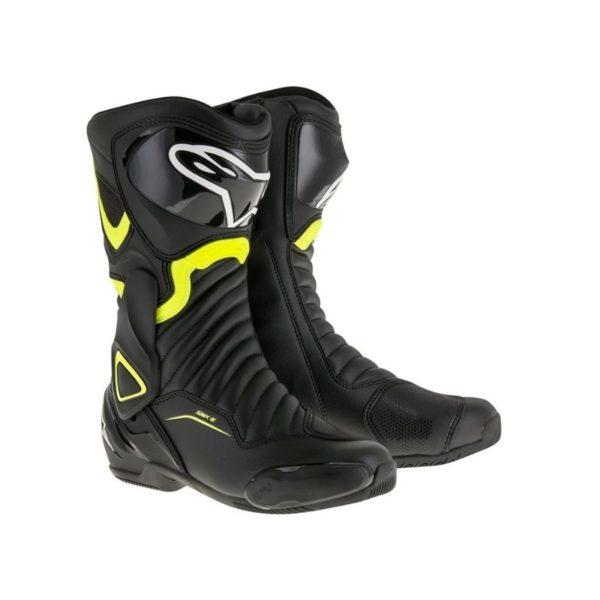botas-alpinestars-smx-6-v2-negro-amarillo-fluor