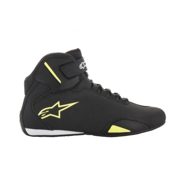 botas-alpinestars-sektor-negras-amarillas-fluor
