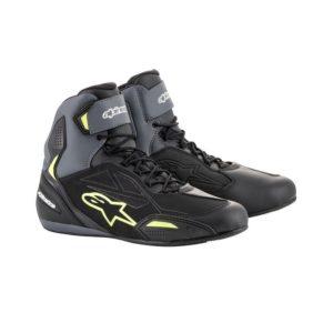 botas-alpinestars-faster-3-drystar-negras-gris-amarillas-fluor