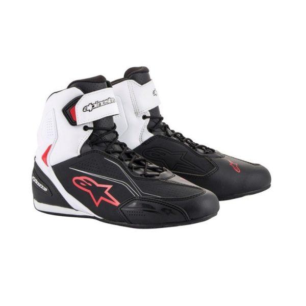 botas-alpinestars-faster-3-negras-blancas-rojas