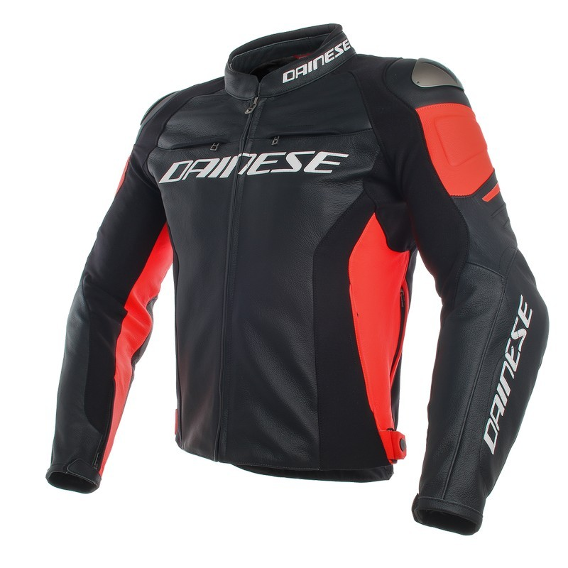 chaqueta-dainese-de-cuero-racing-3-negra-roja