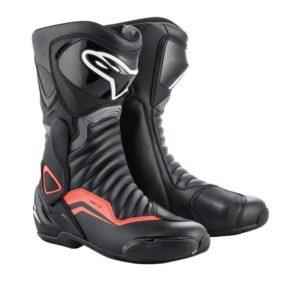 botas-alpinestars-smx-6-v2-negras-gris-rojas-fluor