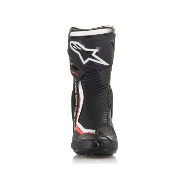 Botas Alpinestars SMX plus v2 negras blancas rojas fluor