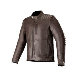 Chaqueta Alpinestars Crazy Eight Leather marron