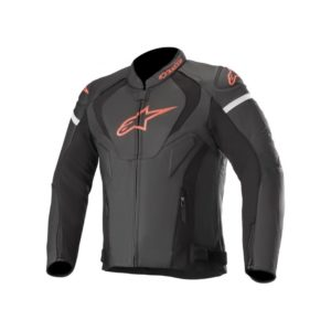 chaqueta-alpinestars-jaws-v3-leather-negra-roja-fluor