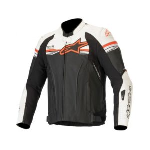 chaqueta-alpinestars-gp-r-v2-leather-tech-air-compatible-negra-blanca-roja-fluor