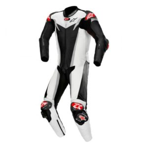 mono-alpinestars-gp-tech-v3-1pc-leather-suit-tech-air-compatible-negro-blanco-plata