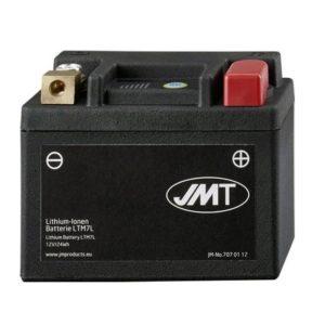 Batería moto JMT- LTM7L 12V/24WH de Litio con Indicador de Carga