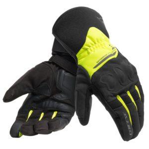 guantes-dainese-x-tourer-d-dry-negros-amarillos-fluor