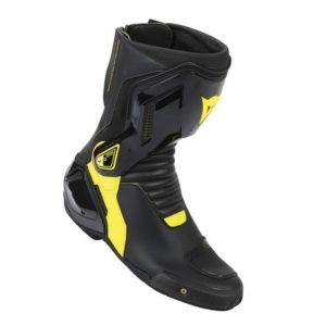 Botas Dainese Nexus negras amarillas fluor