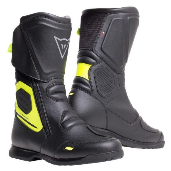 botas-dainese-x-tourer-d-wp-negras-amarillas-fluor