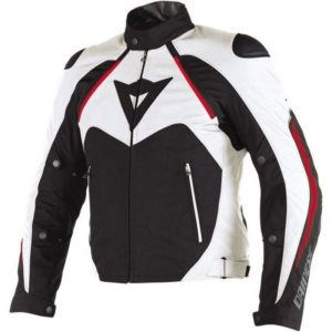 Dainese - Chaqueta Dainese Hawker D-Dry Negra Blanca -