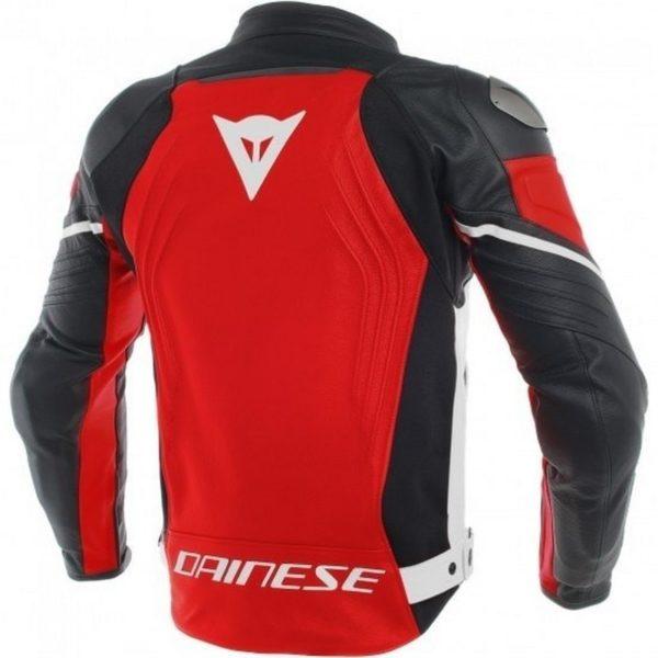 Chaquetas de piel Dainese - Chaqueta Dainese de cuero Racing 3 Roja -