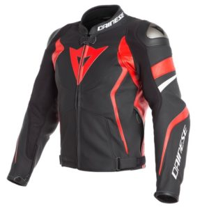 chaqueta-dainese-avro-4-negra-mate-roja-lava-blanca