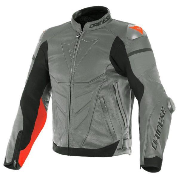 chaqueta-dainese-super-race-gris-roja-fluor