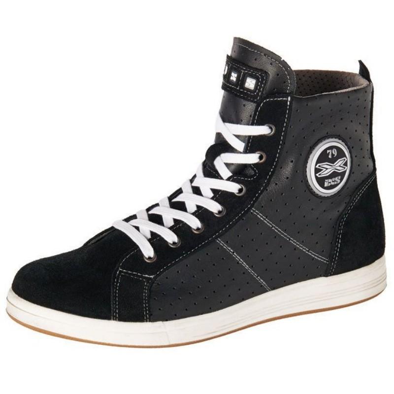 Zapatillas de Moto IXS Allegra Negra Piel