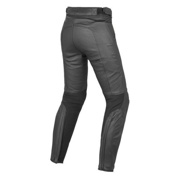 Dainese - Pantalón de cuero Dainese Pony C2 Mujer Negro -