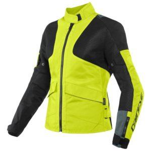 chaqueta-dainese-air-tourer-lady-tex-negra-ebano-amarilla-fluor