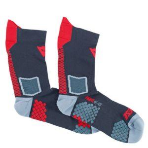 ROPA TÉRMICA PARA MOTO - Calcetines Dainese D-Core Mid Sock Rojos -