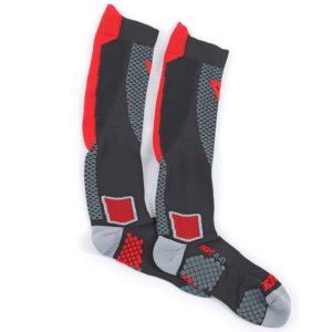 ROPA TÉRMICA PARA MOTO - Calcetines Dainese D-Core High Sock Rojos -