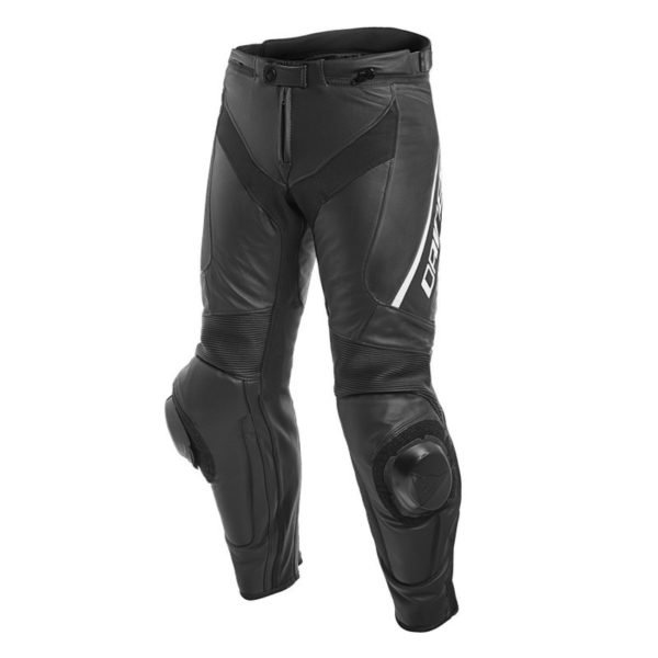 pantalon-de-cuero-dainese-delta-3-shorttall-negro-blanco