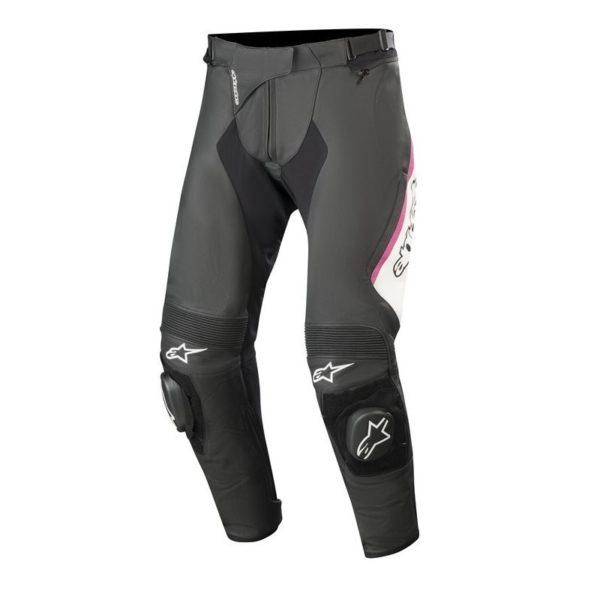 pantalon-alpinestars-stella-missile-v2-leather-pants-negro-blanco-fucsia