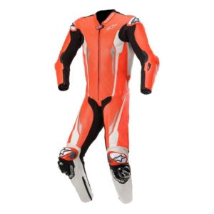 Mono Alpinestars Racing Absolute Tech Air compatible 1PC rojo blanco negro