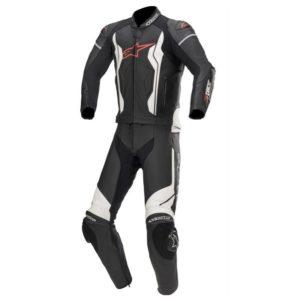 mono-alpinestars-gp-force-2-pc-leather-suit-negro-blanco