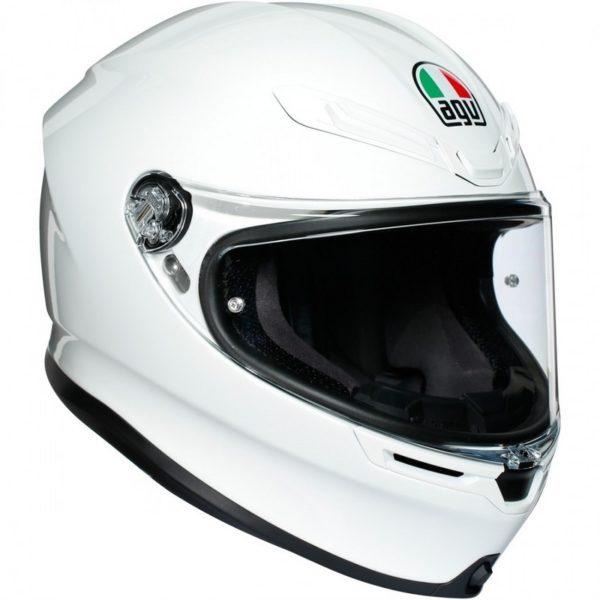casco-agv-k6-white