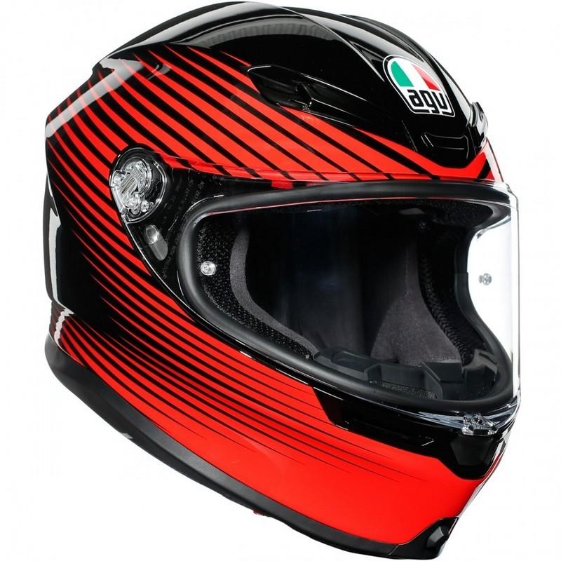 casco-agv-k6-rush-black-red