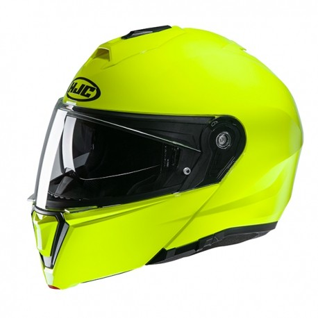 CASCO HJC i90 Fluorescent / GREEN 2020