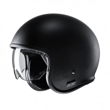 CASCO HJC V30 SEMI FLAT / BLACK 2020