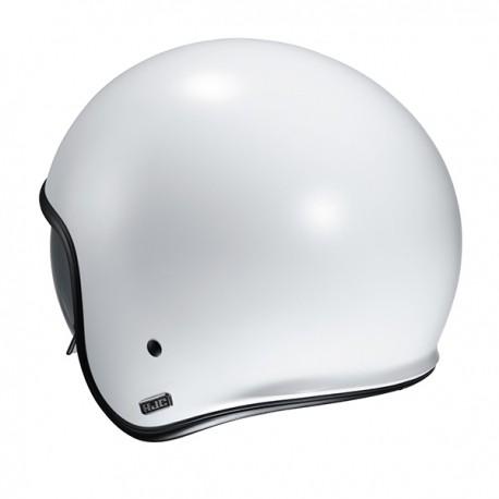 CASCO HJC V30 SEMI FLAT / PEARL WHITE 2020