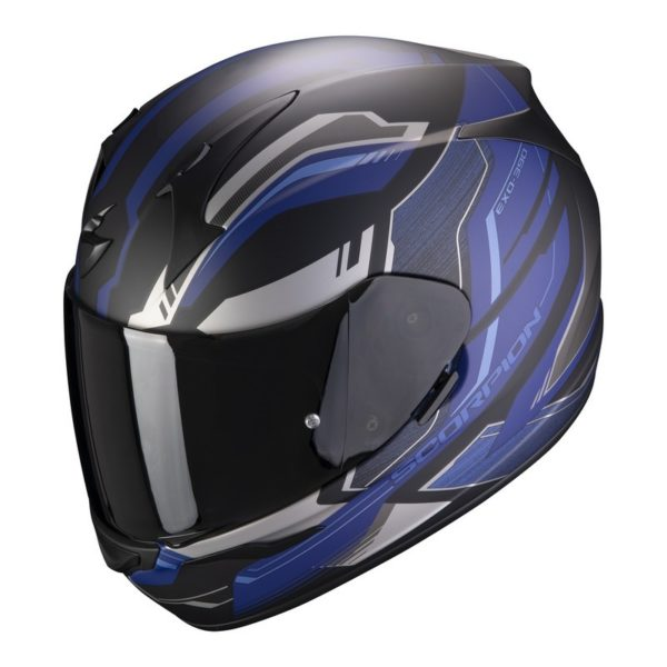 casco-scorpion-exo-390-boost-matt-black-silver-blue