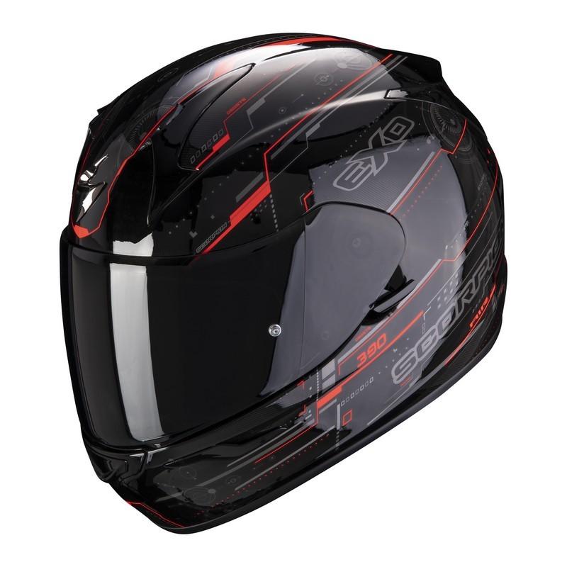 casco-scorpion-exo-390-beat-black-neon-red
