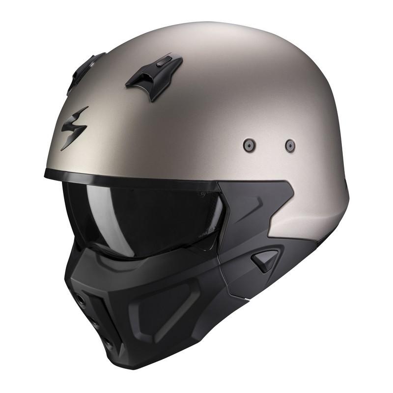 casco-scorpion-covert-x-solid-matt-titanium