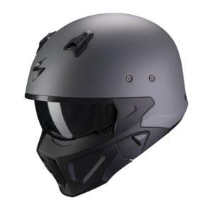 casco-scorpion-covert-x-solid-cement-gray-matt