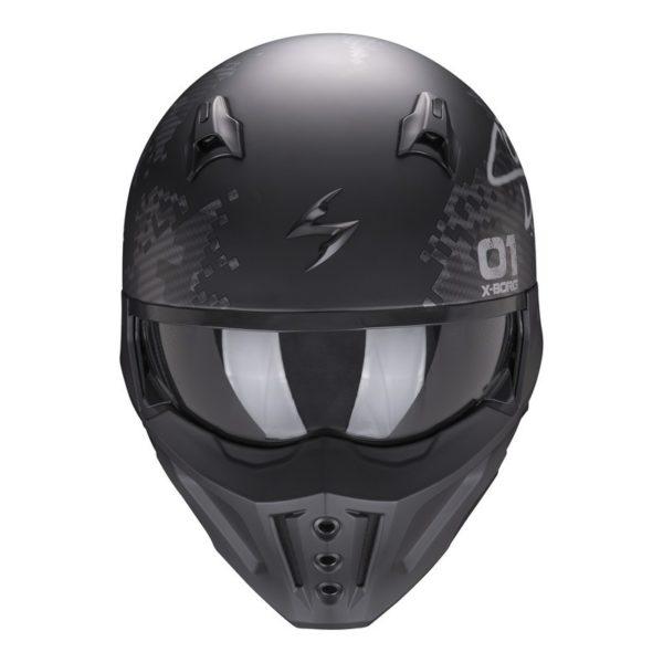 casco-scorpion-covert-x-xborg-matt-black-silver