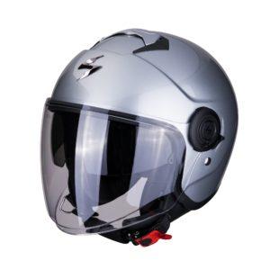 casco-scorpion-exo-city-solid-silver