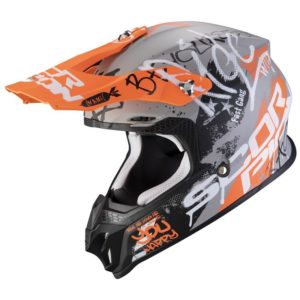 casco-scorpion-vx-16-air-oratio-matt-gray-orange