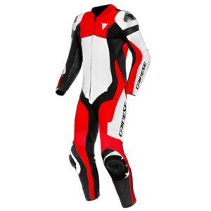 mono-dainese-assen-2-1pc-perforado-blanco-rojo-lava-negro