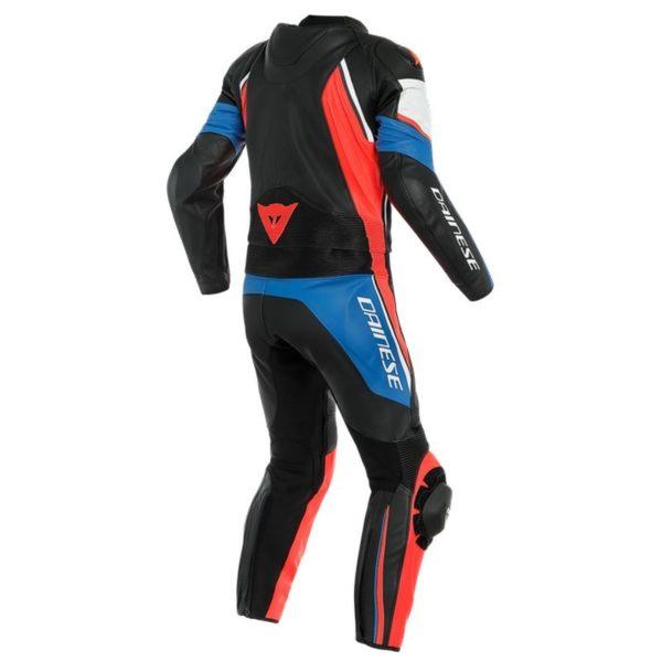 mono-dainese-avro-d2-2pcs-negro-azul-cielo-rojo-fluor