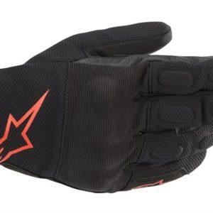 Guantes Alpinestars s max Drystar Negro rojo