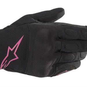Guantes Alpinestars s max Drystar Negro Rosa stella