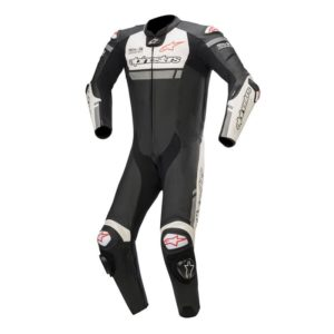 mono-alpinestars-missile-ignition-leather-suit-tech-air-compatible-negro-blanco-rojo-fluor